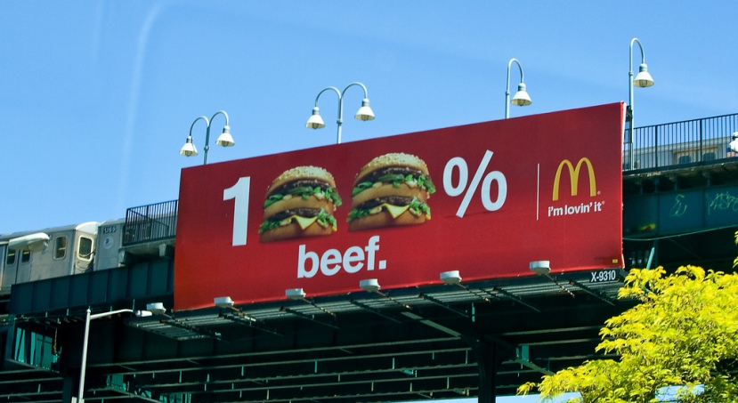 McDonald's: 100% Beef